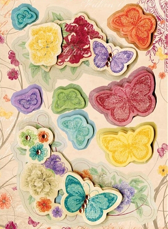 3D Ambrosia Flowers Stickers