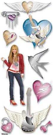 3d Hannah Montana Stickers