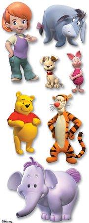 3D My Friend Pooh Stickers
