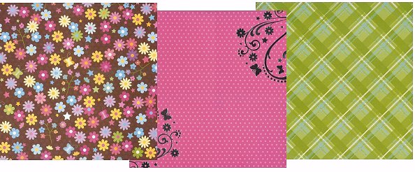 Playful Bfly Paper Pack 12x12