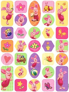 Playful Piglet Stickers