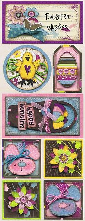 Easter Wishes Stickers