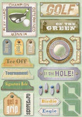 Golf Champion Stickers