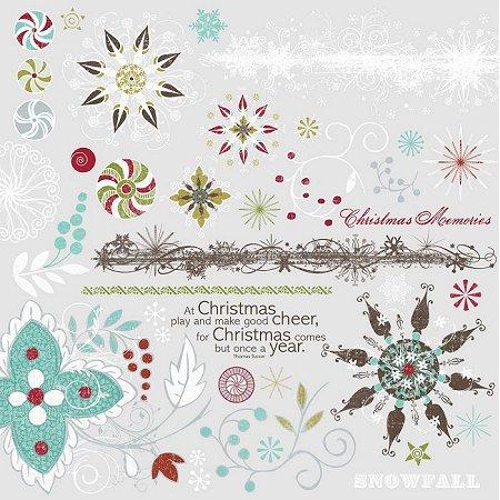 Christmas Magic Rub-Ons