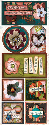 Grateful Heart Stickers