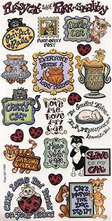Cat Lovers Stickers