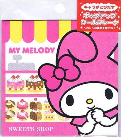 My Melody Sweets Shop Kawaii Sticker Sack