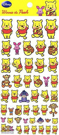 Disney Winnie The Pooh Kawaii Stickers