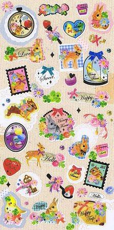 Honey Forest Kawaii Stickers