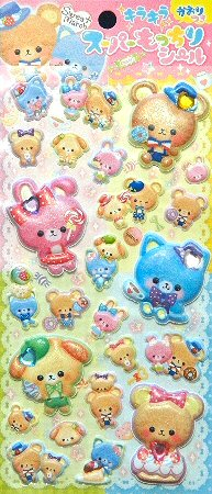 Super Puffy Sweet March Kawaii Stickers