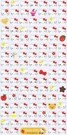 Hello Kitty Faces Kawaii Stickers