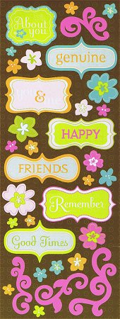 Good Times Flowers Stickers
