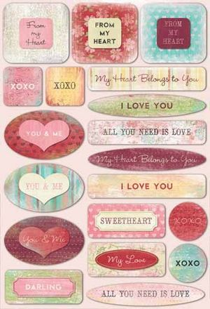 From My Heart Stickers