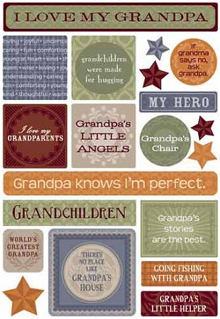 My Grandpa Stickers