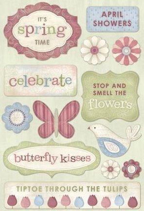Celebrate Spring Stickers