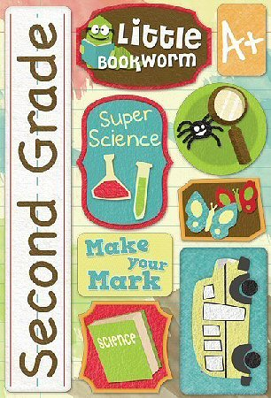 Second Grade Stickers