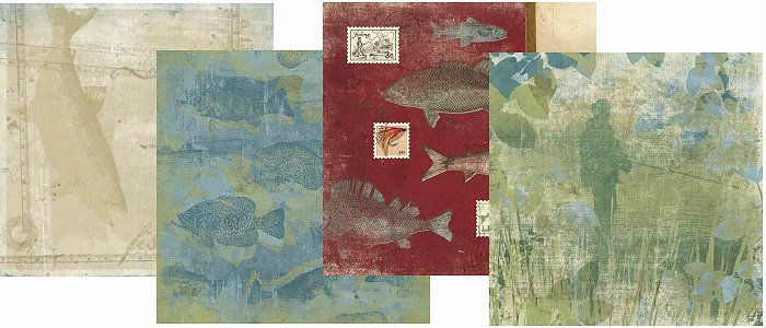 Fish Story Paper Pack