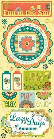 Endless Fun In The Sun Stickers