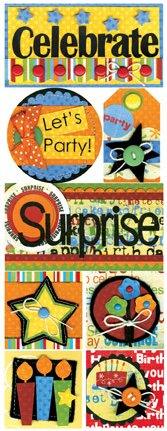 Celebrate Your Birthday Stickers