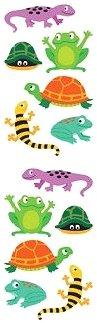 Chubby Amphibians Stickers