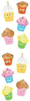 Cutie Cupcakes Stickers