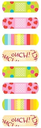 Bandages Stickers