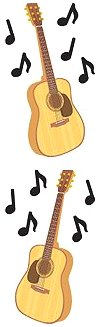 Guitars Stickers