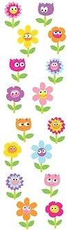 Cute Flowers Stickers
