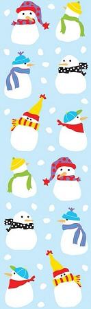 Tiny Snowmen Stickers