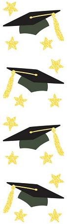 Graduation Caps Stickers