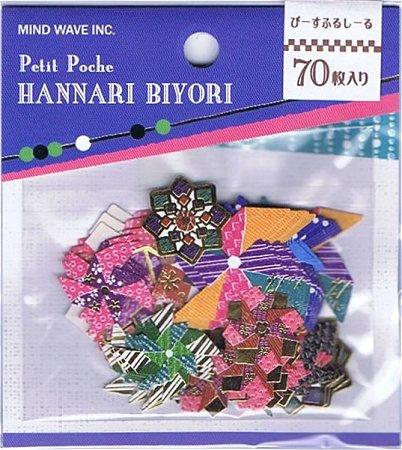 Pinwheels Kawaii Sticker Sack