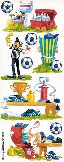 Soccer Game Stickers
