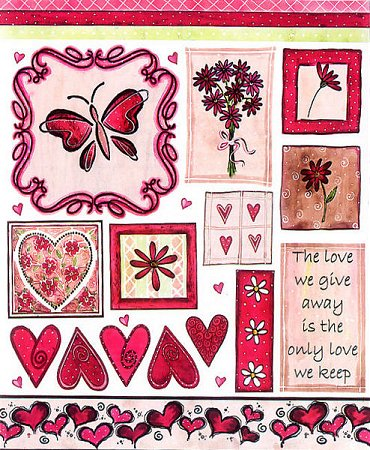 Keeping Love Stickers