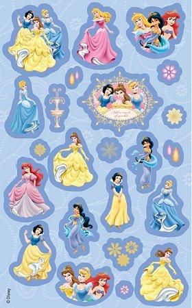 Blue Disney Princesses Stickers