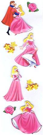 3d Sleeping Beauty Stickers