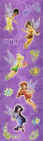 Glitter Tinkerbell Fairies Stickers