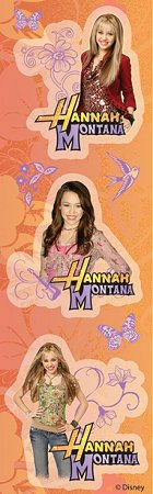 Shiny Hannah Montana Flowers Stickers