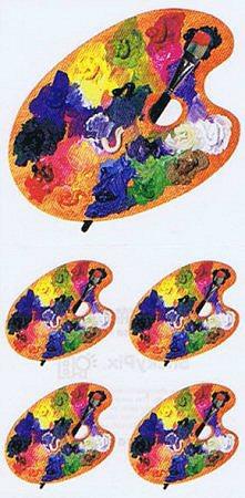 Artist's Palette Stickers