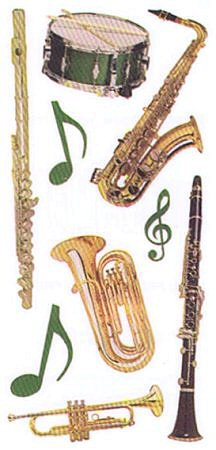 Instruments Stickers