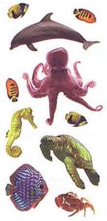 Aquarium Sea Life Stickers