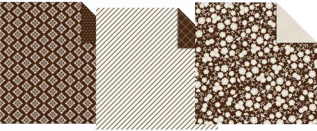 Brown Wedding Paper Pack 12x12