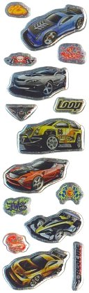 Hot Wheels Gems Stickers