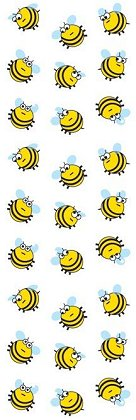 Shiny Bees Stickers