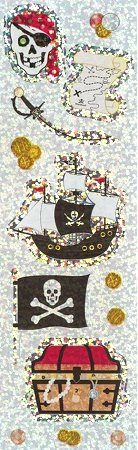 Shiny Pirates Stickers