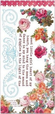 Anna Lee Flowers Rub-Ons