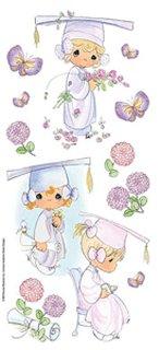 Precious Moments Graduation G Stickers