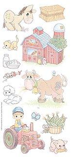 Precious Moments Farm Animals Stickers #7396 :: Animal Stickers