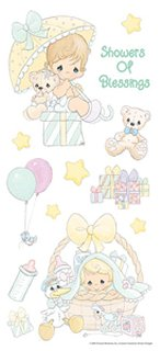 Precious Moments Baby Stickers