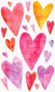 Vellum Valentines Stickers