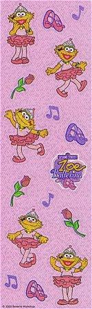 Shiny Zoe Ballerina Stickers